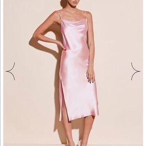 NWT Fleur Du Mal Silk Slip Dress